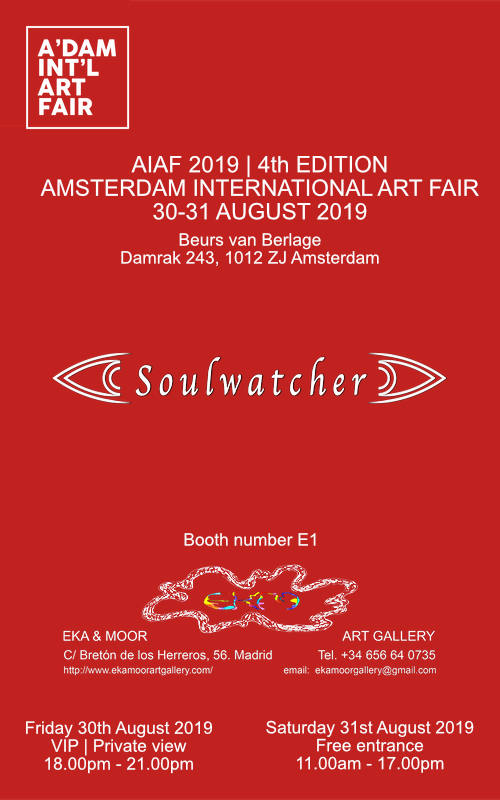Soulwatcher Amsterdam International Art Fair 2019