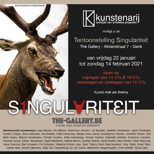 Soulwatcher - Singulariteit - group exhibition - The gallerij Genk Belgium