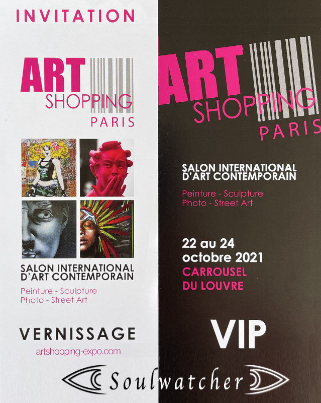 Soulwatcher - Art Shopping Paris – Carrousel du Louvre – October 2021